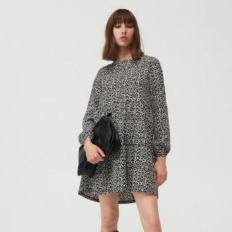 Mohito - Trapezowa sukienka - Czarny