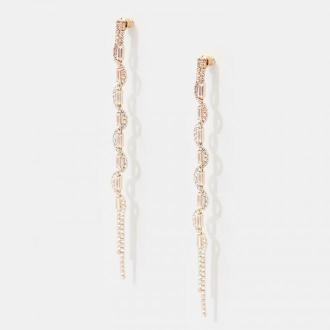 Mohito - Długie ozdobne kolczyki - Wielobarwny