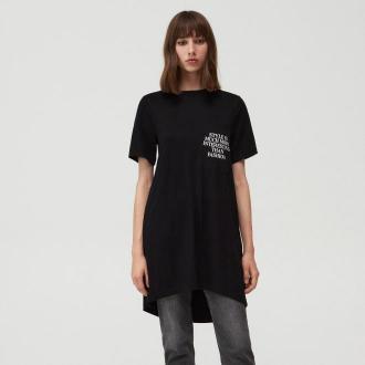 Mohito - Sukienka typu T-shirt Eco Aware - Czarny