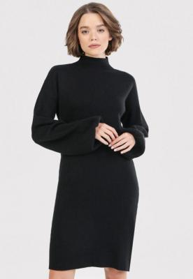 Czarna Sukienka Vilintyse