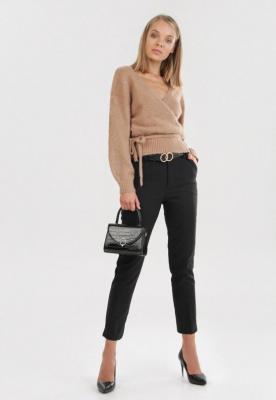 Ciemnobeżowy Sweter Wylineth - Zdjęcie 2