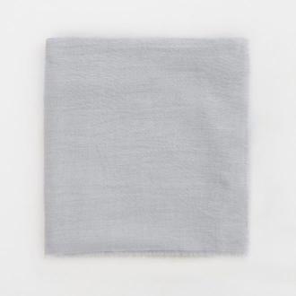Mohito - Gładka chusta z wiskozą - Jasny szary