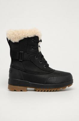Sorel - Śniegowce skórzane Torino II Parc Boot