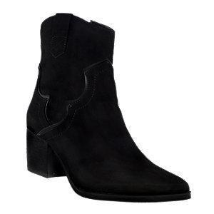 Czarne botki damskie Catwalk typu kowbojki