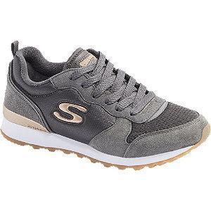 Popielate sneakersy damskie Skechers Gold'n Gurl
