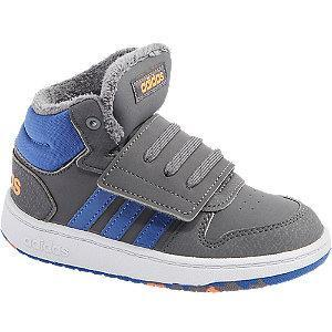 Ocieplane sneakersy chłopięce adidas HOOPS MID 2.0 I