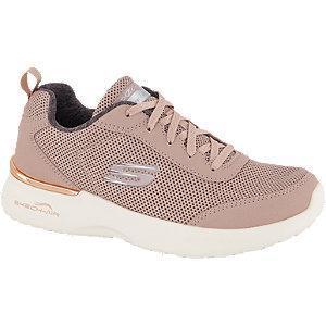 Różowe sneakersy damskie Skechers Air Dynamight
