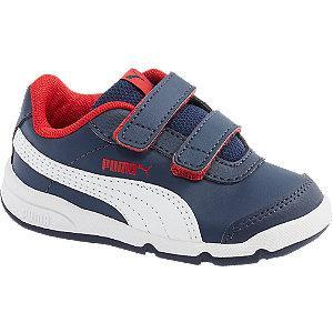 Granatowe sneakersy dziecięce Puma Stepflex