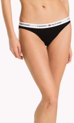 Tommy Hilfiger czarne majtki Bikini Iconic - XS