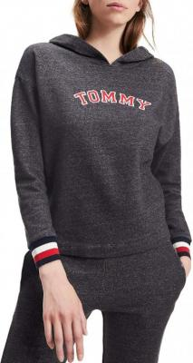 Tommy Hilfiger szara bluza Batwing Hoody LS - XS