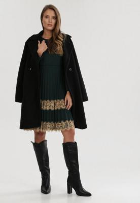 Zielona Sukienka Dzianinowa Nicqinor - Zdjęcie 2