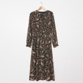 House - Wzorzysta sukienka maxi - Wielobarwny - Zdjęcie 1
