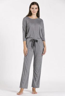 Dół od piżamy z drobnym wzorem - Zdjęcie 1