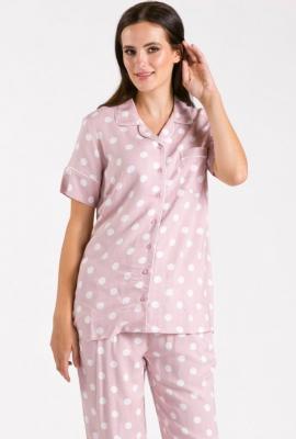 Góra od piżamy w grochy - Zdjęcie 1