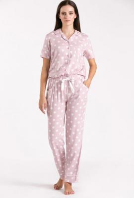 Dół od piżamy w grochy - Zdjęcie 1