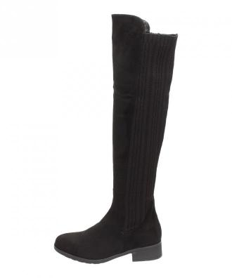 Czarne kozaki damskie FILIPPO DKZ567 - Zdjęcie 1