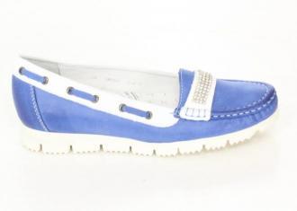 Carinii półbuty B2749/708/967 Blue - Zdjęcie 1