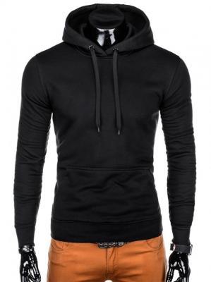 Bluza męska z kapturem 873B - czarna - XXL - Zdjęcie 1