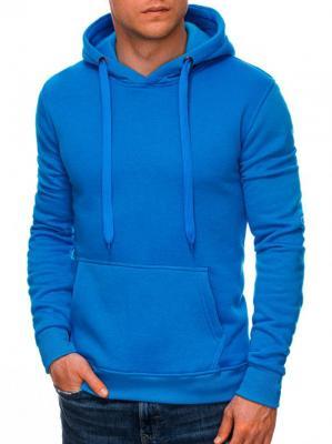 Bluza męska z kapturem 873B - niebieska - XXL - Zdjęcie 1
